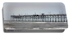 Oak Island Beach Pier Portable Battery Charger