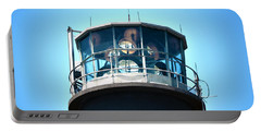 Oak Island Lighthouse Beacon Lights Portable Battery Charger by Sandi OReilly
