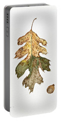 Portable Battery Charger featuring the painting Oak Study by Michele Myers