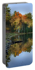 Portable Battery Charger featuring the photograph Oakley Corners State Forest by Christina Rollo
