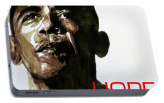 Obama Hope Portable Battery Charger by Paul Lovering