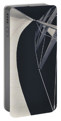 Obsession Sails 9 Black And White Portable Battery Charger