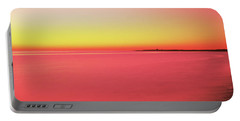 Ocean At Sunset, Provincetown, Cape Portable Battery Charger