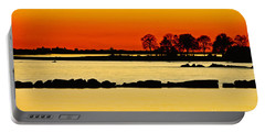 Orange Sunset Portable Battery Charger