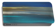 Ocean Blue 2 Portable Battery Charger by Linda Woods