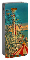 Ocean City Castaway Cove Ferris Wheel Portable Battery Charger