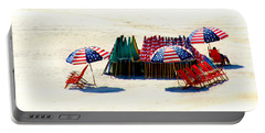Ocean City Nj Stars And Stripes Portable Battery Charger