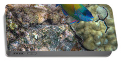 Portable Battery Charger featuring the photograph Ocean Color by Peggy Hughes