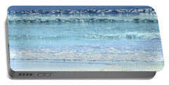 Ocean Colors Abstract Portable Battery Charger