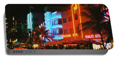 Ocean Drive Film Image Portable Battery Charger