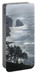 Portable Battery Charger featuring the photograph Ocean Drop by Fiona Kennard