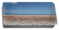 Portable Battery Charger featuring the photograph Ocean Horizon by Todd Blanchard