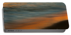 Portable Battery Charger featuring the photograph Wave Impressions  by John F Tsumas