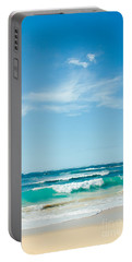 Portable Battery Charger featuring the photograph Ocean Of Joy by Sharon Mau