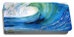 Ocean Spray Portable Battery Charger by Carlin Blahnik