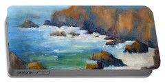 Schoolhouse Beach Overlook Portable Battery Charger