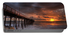 Oceanside Pier Perfect Sunset Portable Battery Charger