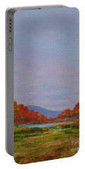 October Morning Portable Battery Charger by Gail Kent