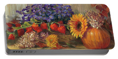 October Still Life Portable Battery Charger
