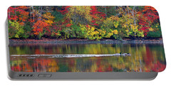 Portable Battery Charger featuring the photograph October's Colors by Dianne Cowen