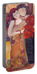 Ode To Klimt Portable Battery Charger