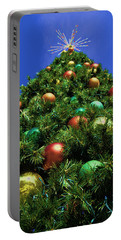 Oh Christmas Tree Portable Battery Charger by Kathy Churchman