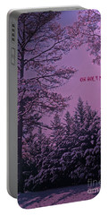 Oh Holy Night Portable Battery Charger by Lydia Holly