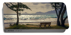 Portable Battery Charger featuring the photograph Oahu Sunrise by Steven Sparks