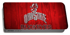 Ohio State Buckeyes Barn Door Vignette Portable Battery Charger