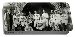 Ohio State Football Circa 1890 Portable Battery Charger by Jon Neidert