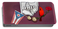 Ohio Wall Hanging Portable Battery Charger