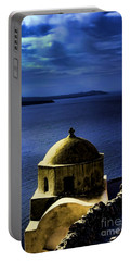 Oia Greece Portable Battery Charger