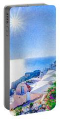 Oia Santorini Grk4178 Portable Battery Charger