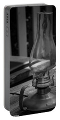 Portable Battery Charger featuring the digital art Oil Lamp by Gandz Photography