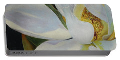 Oil Painting - Sydney's Magnolia Portable Battery Charger