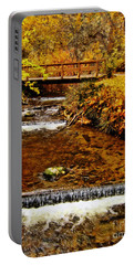 Okanagan Autumn Portable Battery Charger by Kathy Bassett