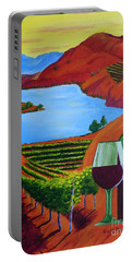 Okanagan Wine Country Portable Battery Charger