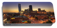 Oklahoma City Nights Portable Battery Charger