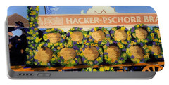 Portable Battery Charger featuring the painting Oktoberfest by Lynne Reichhart