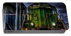 Portable Battery Charger featuring the photograph Old 6139 Locomotive by Thom Zehrfeld