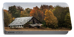 Portable Battery Charger featuring the photograph Old Barn by Debbie Green