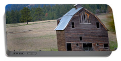 Old Barn In Washington Portable Battery Charger