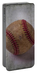 Old Baseball Portable Battery Charger