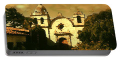 Old Carmel Mission - Watercolor Portable Battery Charger