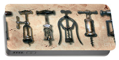 Old Corkscrews Painting Portable Battery Charger