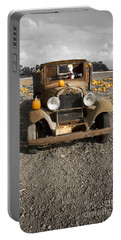 Portable Battery Charger featuring the photograph Old Dodge Brothers Truck by David Millenheft