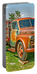 Portable Battery Charger featuring the photograph Old Dually by Sue Smith