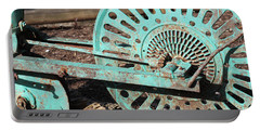Portable Battery Charger featuring the photograph Old Farm Equipment by Todd Blanchard
