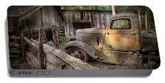 Old Farm Pickup Truck Portable Battery Charger