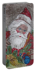 Old Fashioned Santa Portable Battery Charger